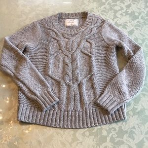 Abercrombie & Fitch Cable Knit Chunky Sweater